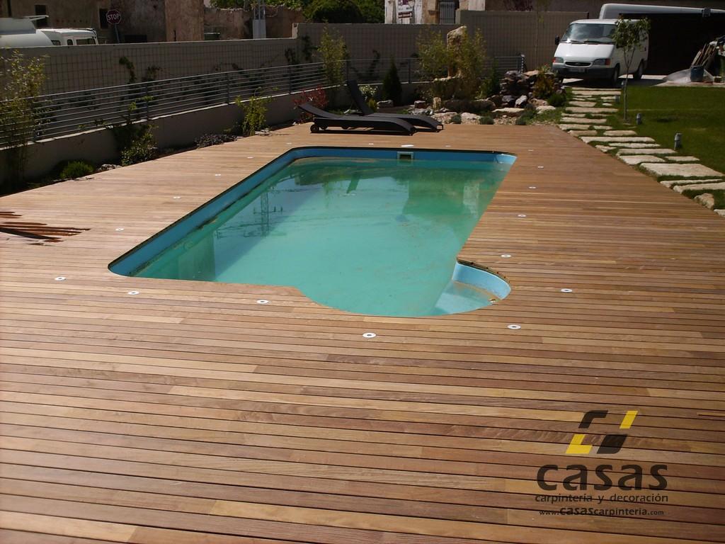 Suelo de exteior para piscina casas carpinter a y decoraci n for Suelo exterior piscina