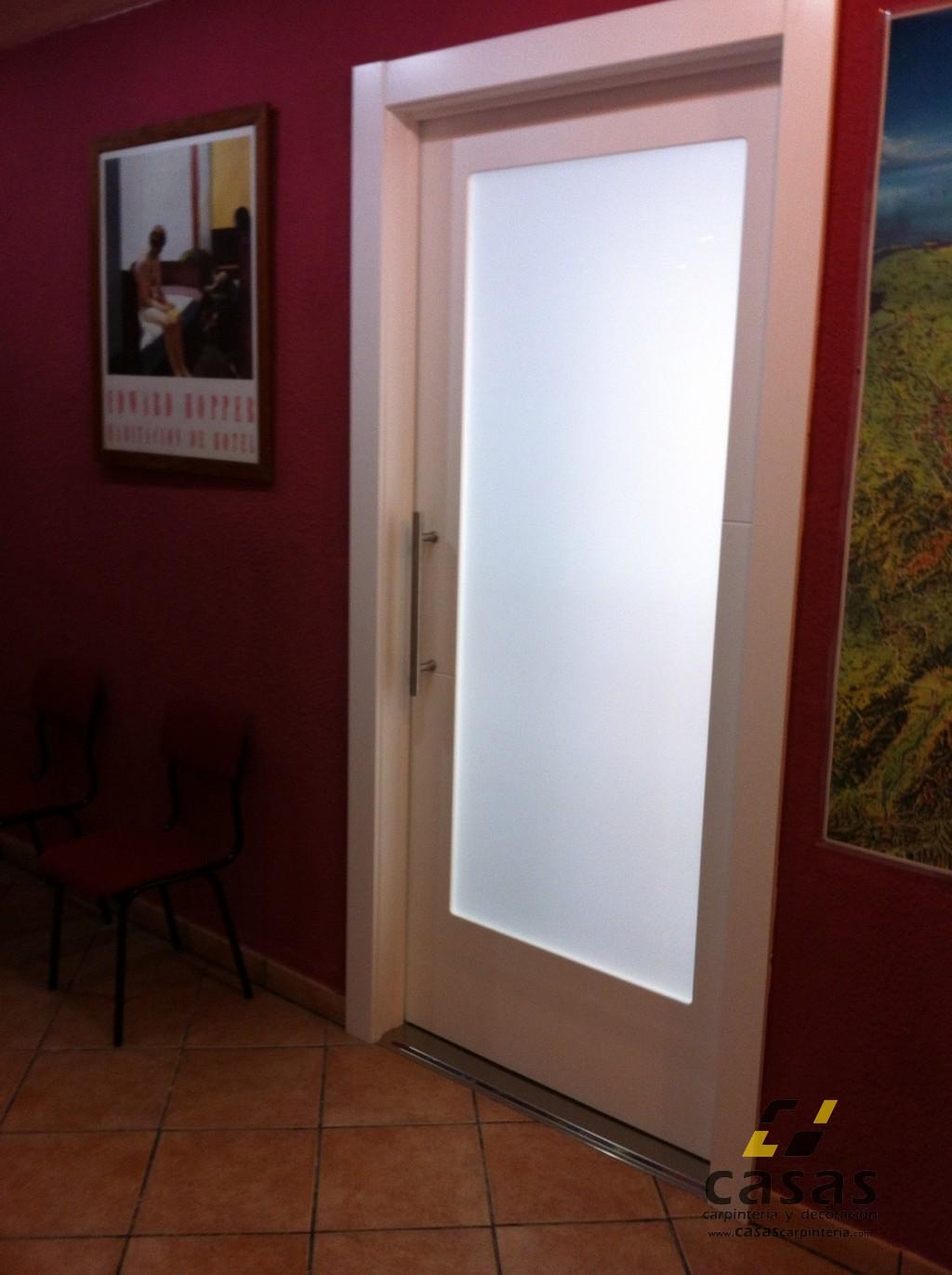 Puerta corredera interior casas carpinter a y decoraci n - Decoracion puertas interior ...