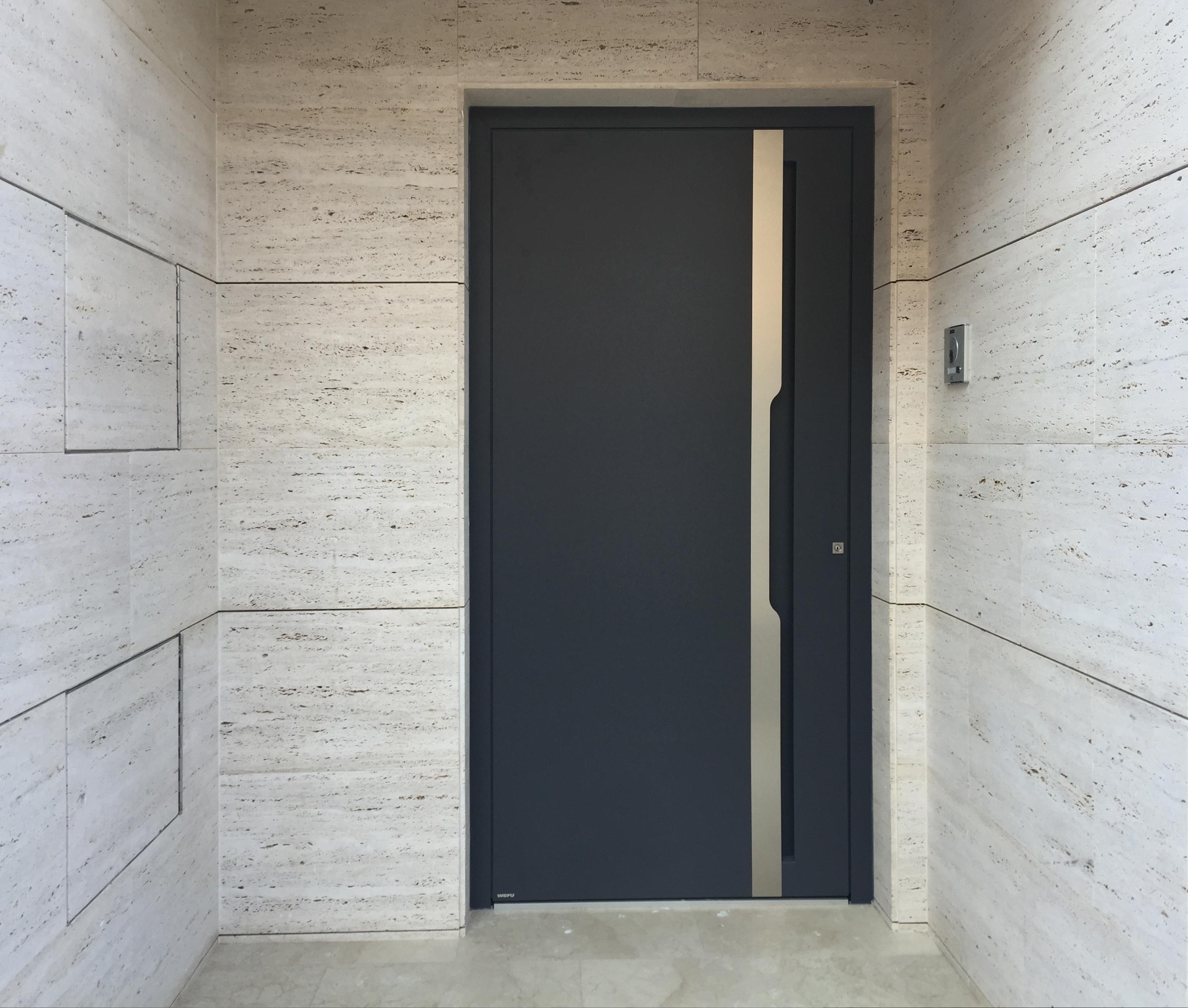 Puertas de entrada weru casas carpinter a y decoraci n - Puertas para exteriores de casas ...