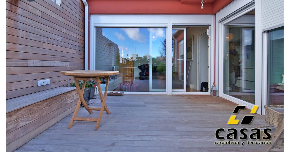 Atico02 casas carpinter a y decoraci n - Carpinteria casas ...