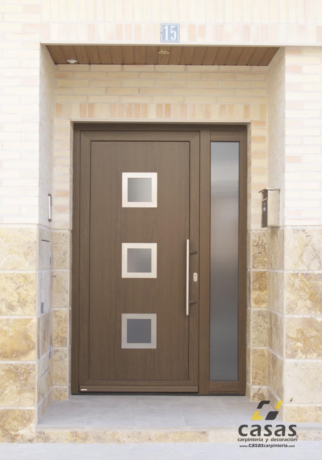 Puertas para casa exterior good great puertas cerrajeria for Puertas para casa entrada principal