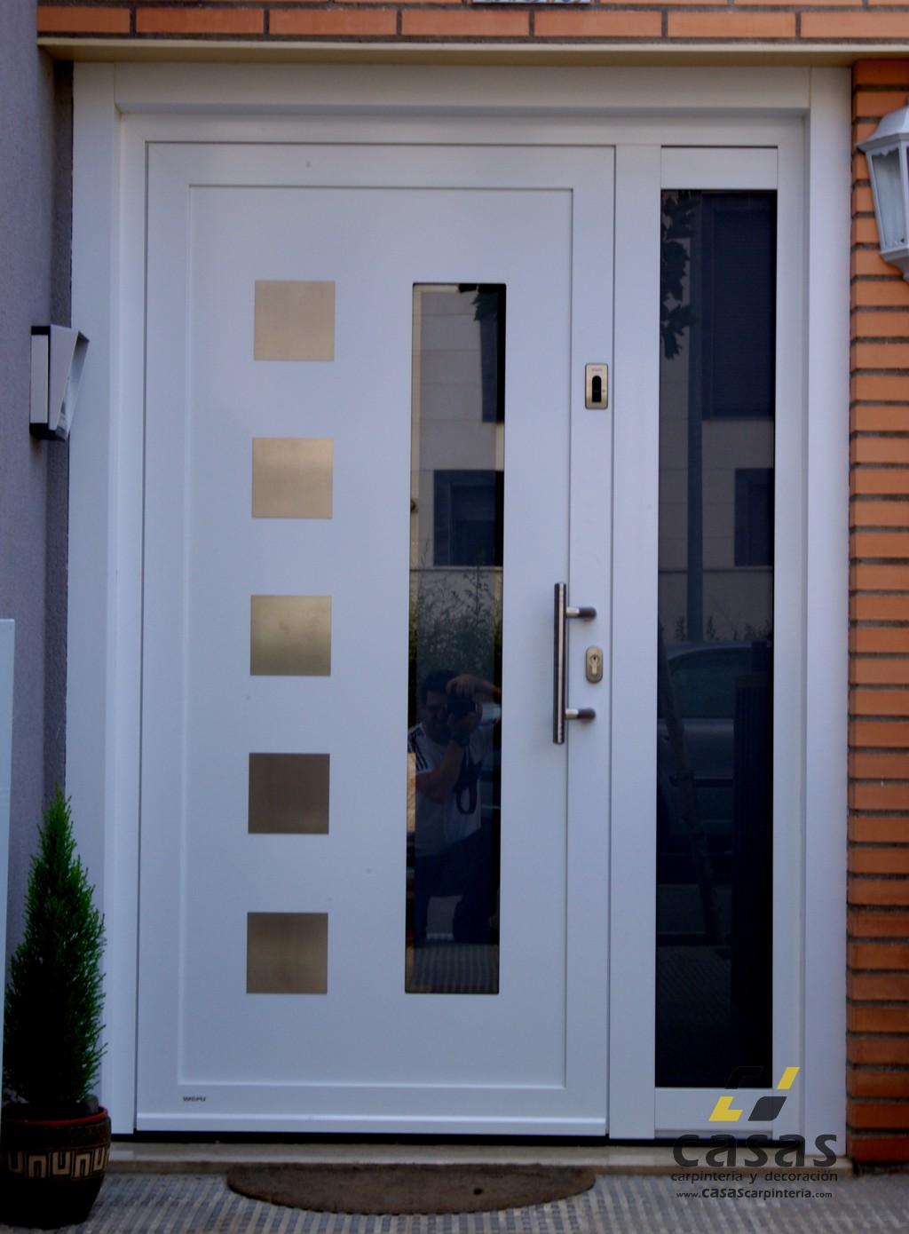 Puertas de entrada weru casas carpinter a y decoraci n for Puertas de aluminio para entrada